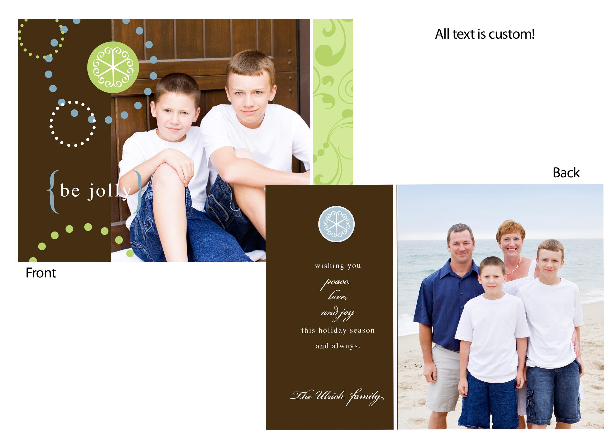 Holiday card sample set 1 ho ho ho heidi walter photography christmas cards kristyandbryce Images